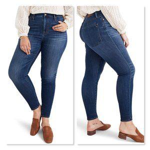 Madewell Curvy High Waist Skinny Jeans sz 30